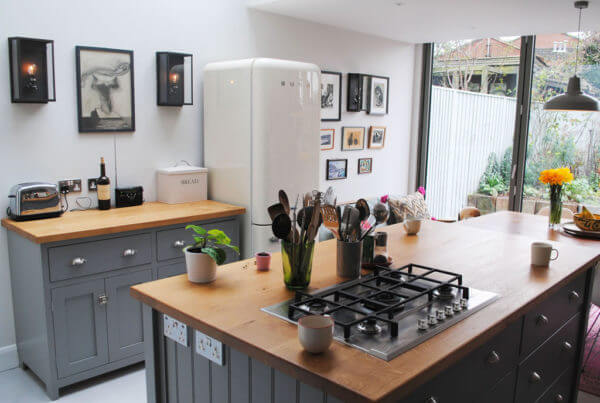 smeg gas hob home stage renovation london