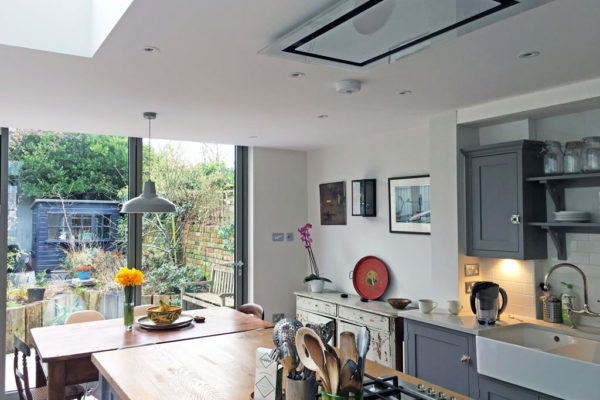 Bulter sink Islington home renovation