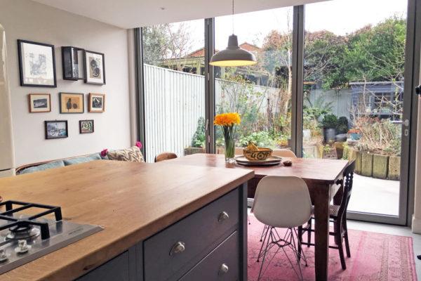 IQ glas bifold doors islington renovation