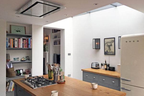 Elica ceiling mounted extractor
