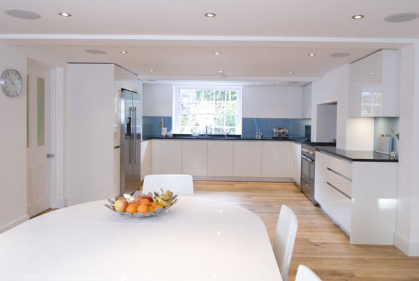 Large kitchen space styled by Absolute Project Management