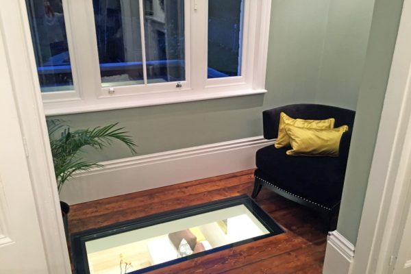 glass window at the floor styled by Absolute Project Management