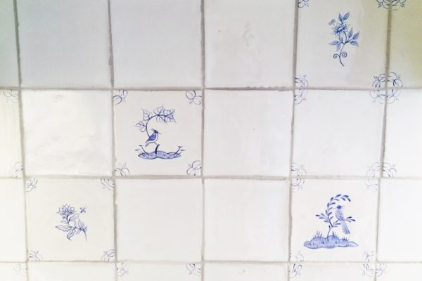 Fired Earth English Delft Tiles house renovation