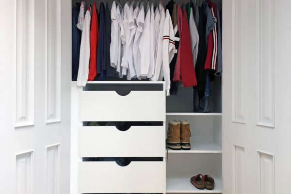 Wardrobe styled by Absolute Project Management