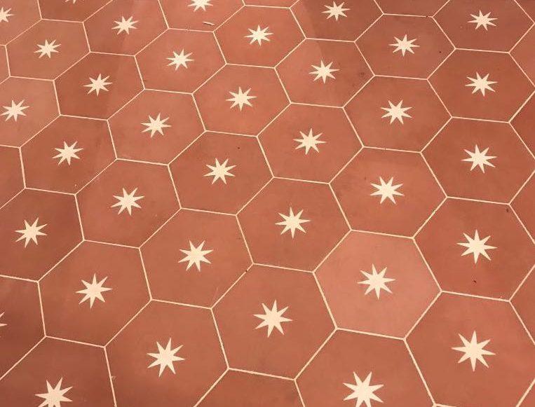 Moroccan star tiles