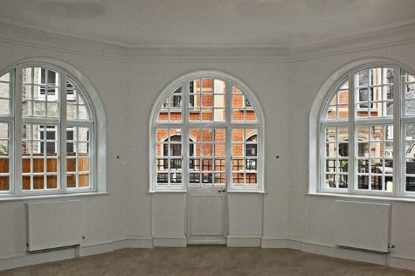 Windows with secondary glazing