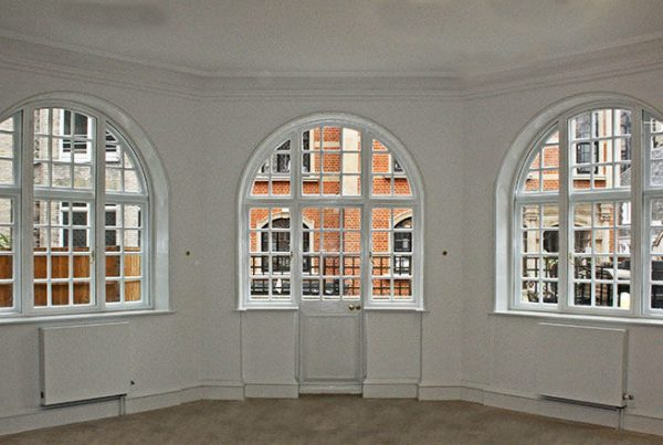 Windows with secondary glazing