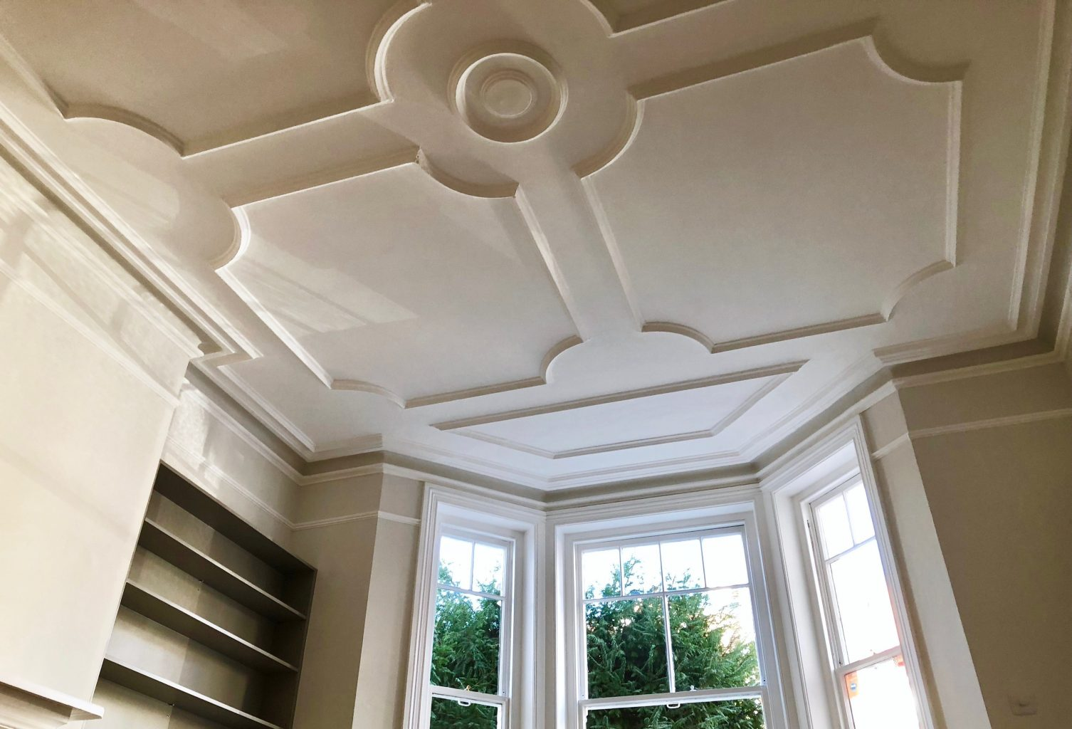 Ceiling Moulding styled by Absolute Project Management