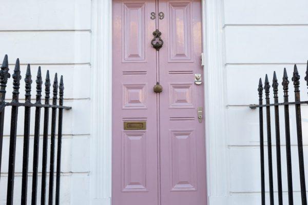 Pink door by APM