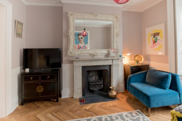 Valencia Sofa in the living room styled by Absolute Project Management
