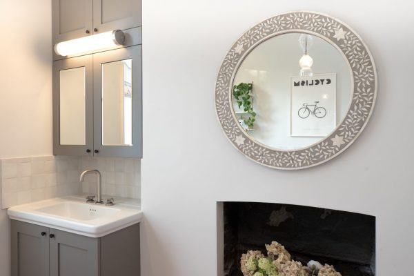 Modern grey bathroom styled by Absolute Project Management