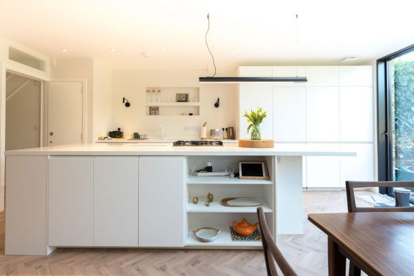 Comfortable and modern kitchen styled by Absolute Project Management