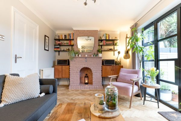 Lively living room with great accessories styled by Absolute Project Management