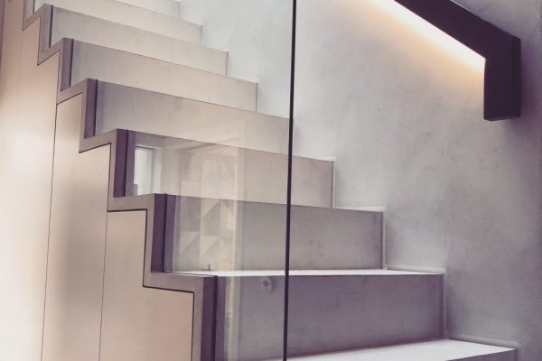 Glass balustrade styled by Absolute Project Management