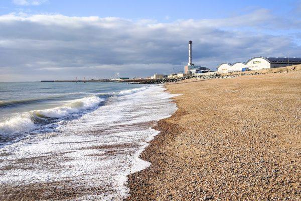 Spring beach Brighton