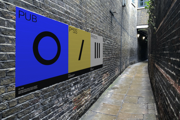 Vinyl Wall Art by UAL students
