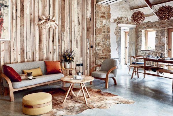 Tom Raffield's home Clerkenwell design week