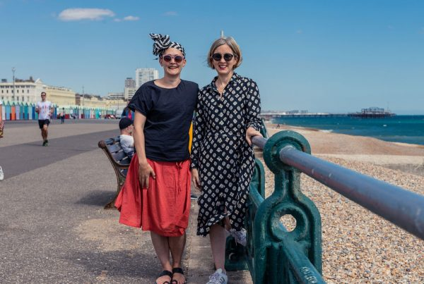 Absolute Project Management Director Cat Hoad and Project Manager Jo Sampson at Brighton