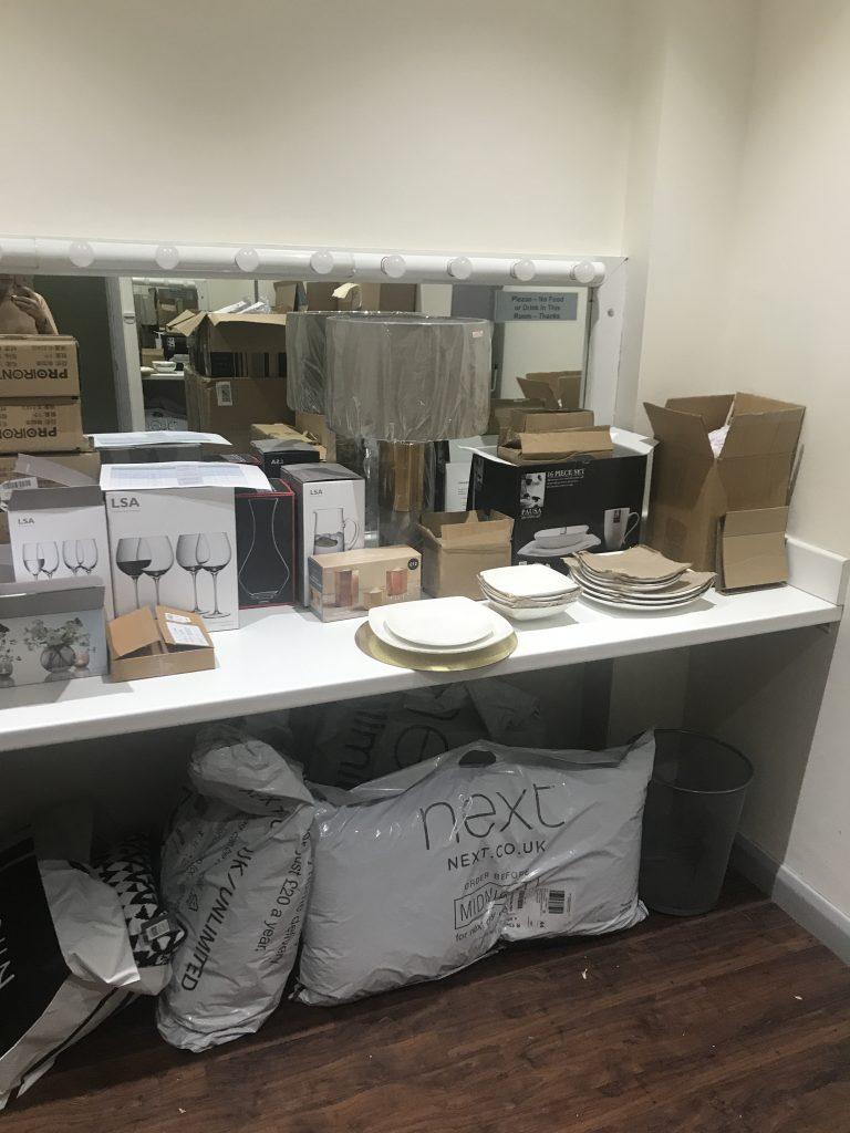 room full of props