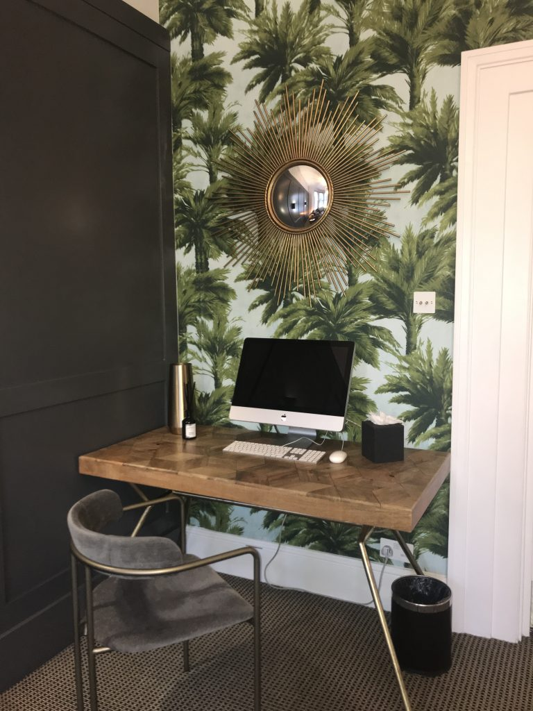 Desk styled by Absolute Project Management