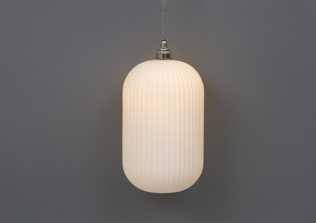 Reeded Opal pendant by Spark & Bell